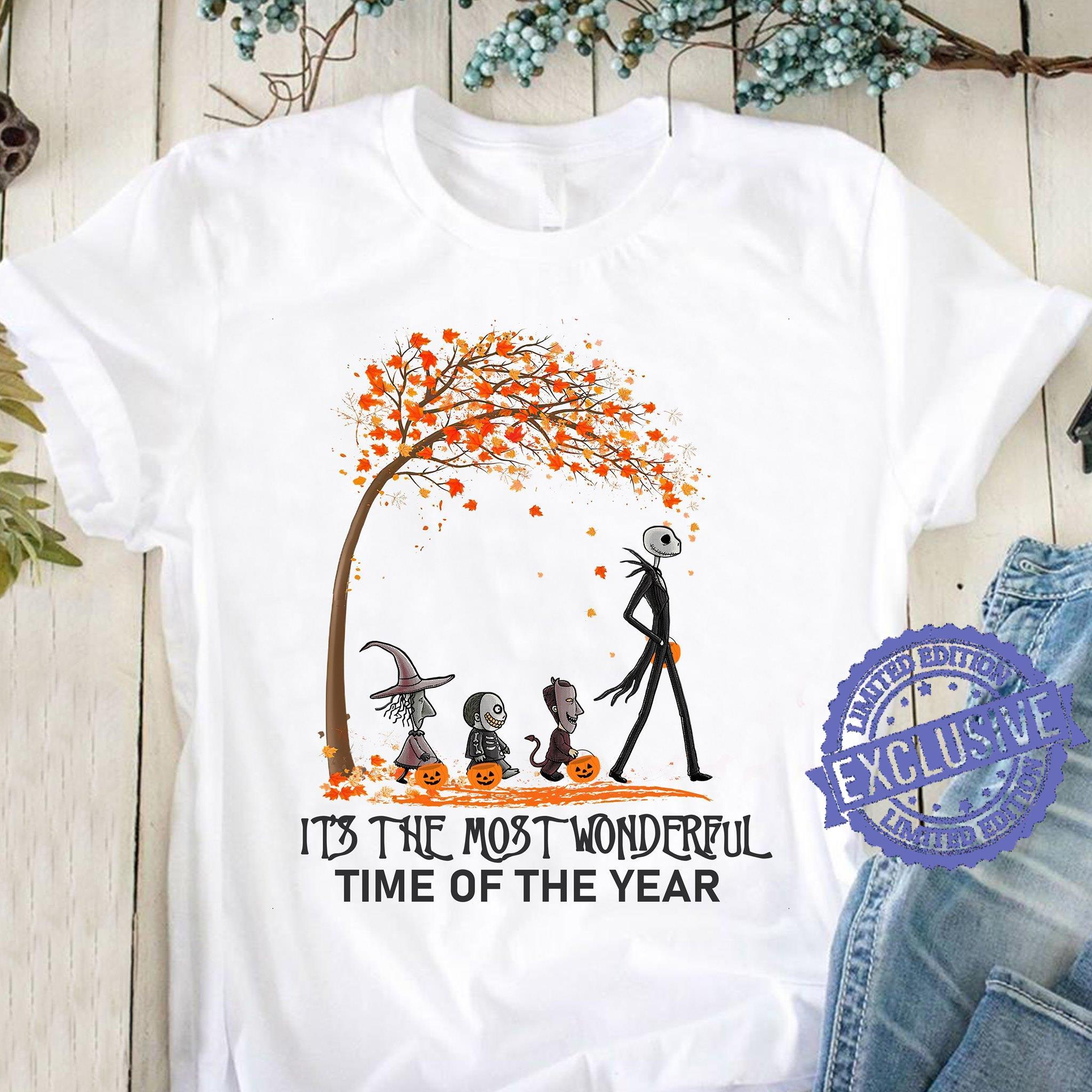 Skelington It S The Most Wonderful Time Of The Year Shirt