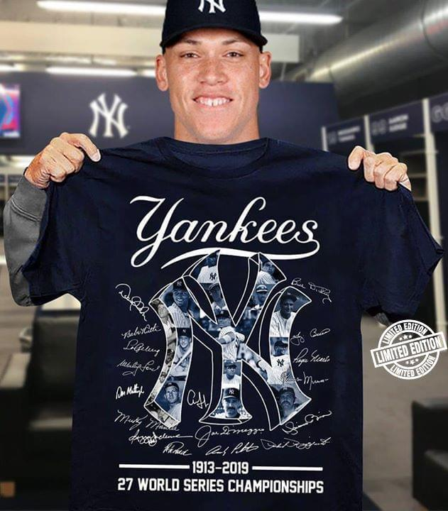Yankees 27 World Series Championships Shirt